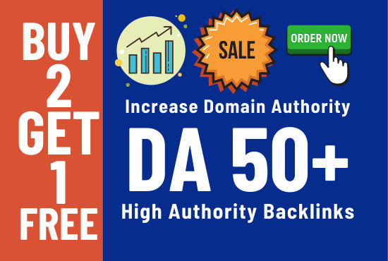I will increase domain authority DA 50 plus