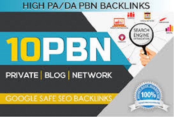 Manually Build 10 UNIQUE HOMEPAGE PBN backIinks DA for 10