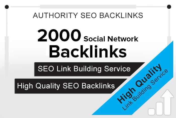 Create 2000 Social Network backlinks