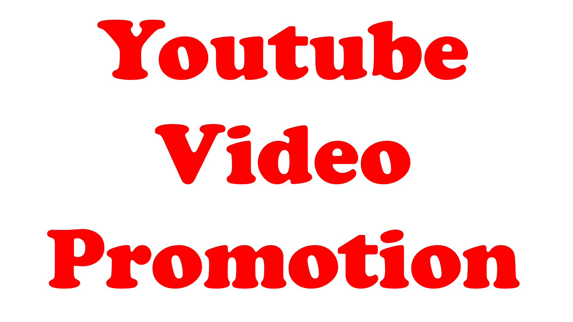 Youtube Video Ranked Promotion