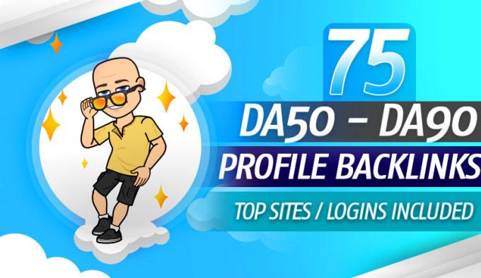 I Will Build High Authority 30 Profile Backlinks SEO