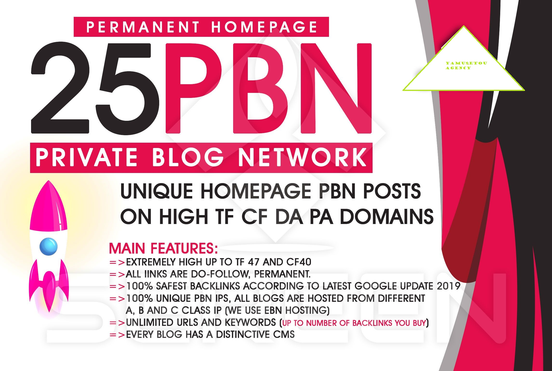 """""""I Will""""create premium pbn on high metrics solution to boost your rankings fast"""