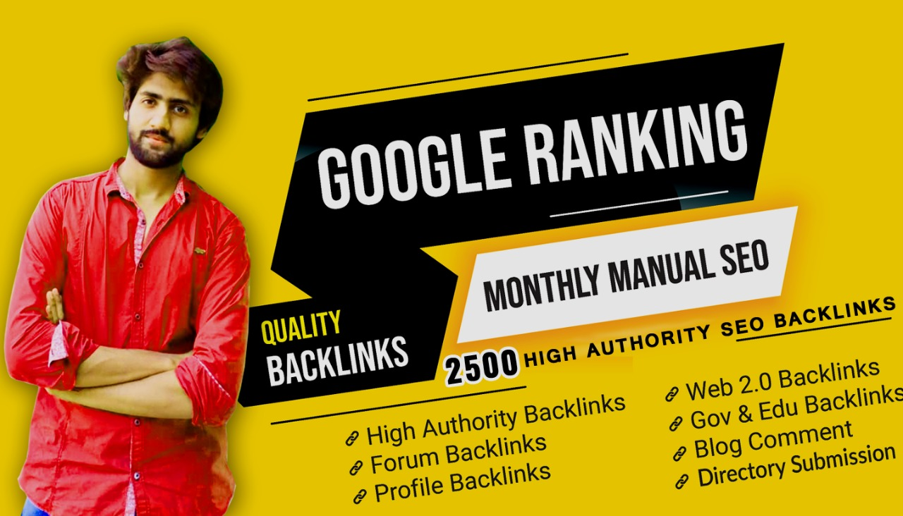 build high quality dofollow seo backlinks link