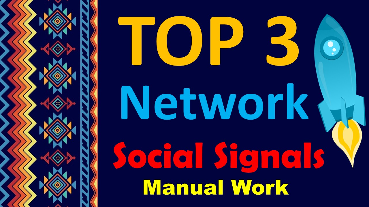 TOP No3 Social Media Best 5,000 SOCIAL SIGNALS With NUCLEAR SEO