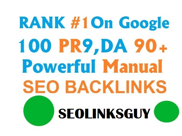 Double Your Ranking With 100 Pr9 DA90+ High Pr SEO Backlinks For Rank 1 on Google