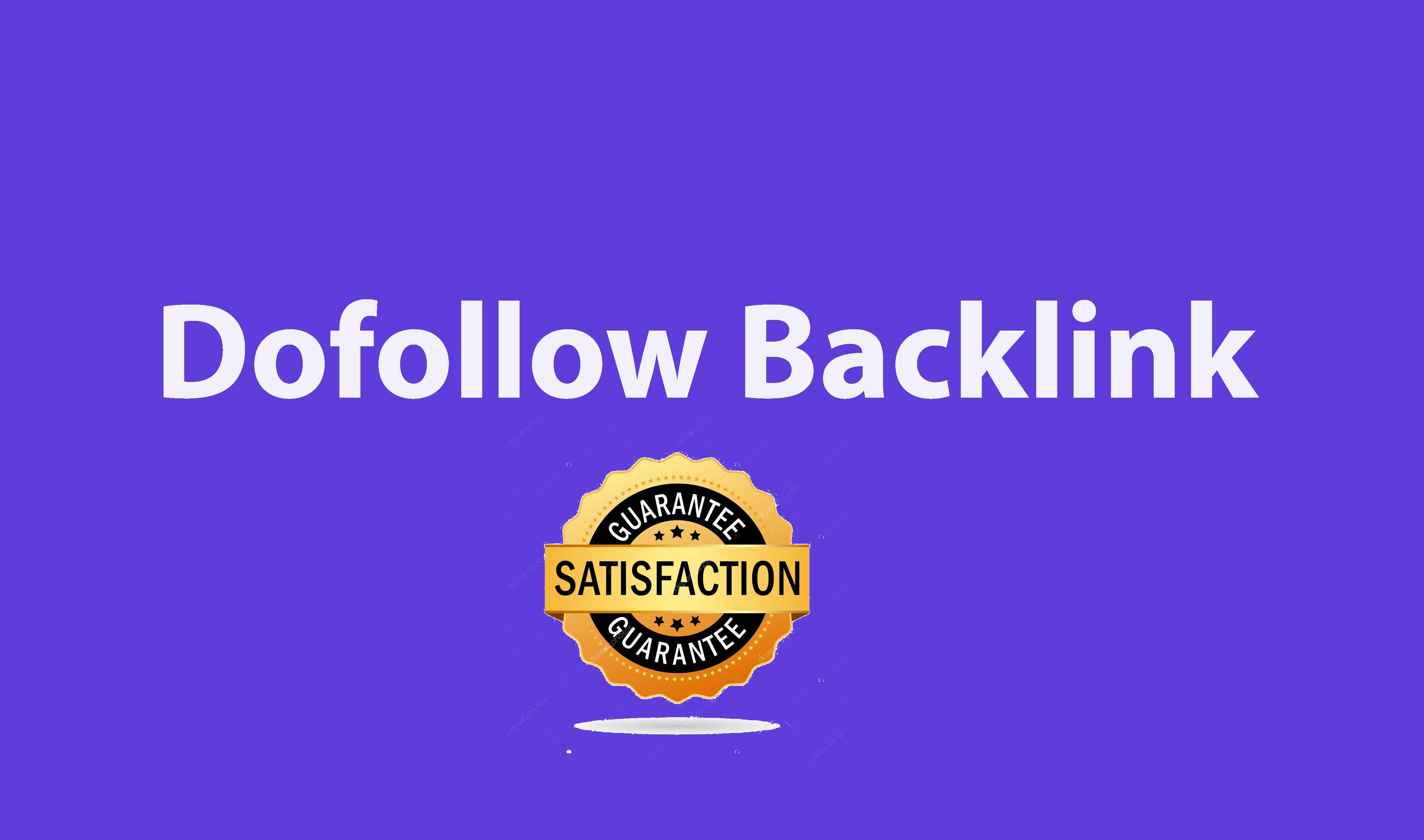 50 Do-follow backlinks mix platforms - Full Details