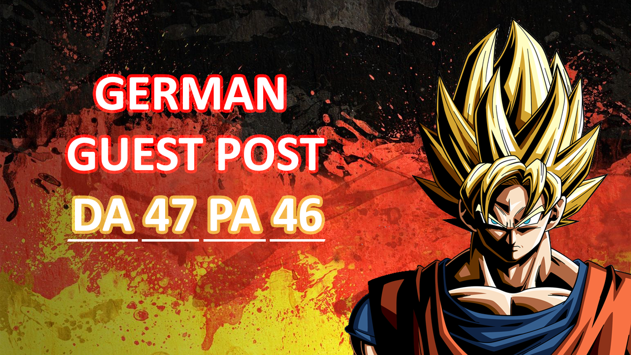 I will Publish German Guest Post
