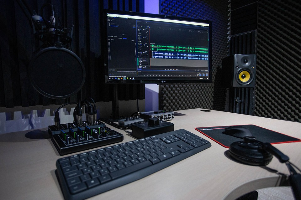 professionally edit and mix your podcast audio editing