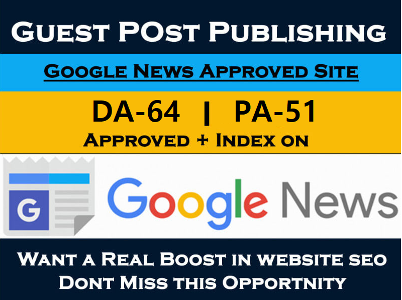 Wite and publish guest post on us google news approved blog Usupdates. com