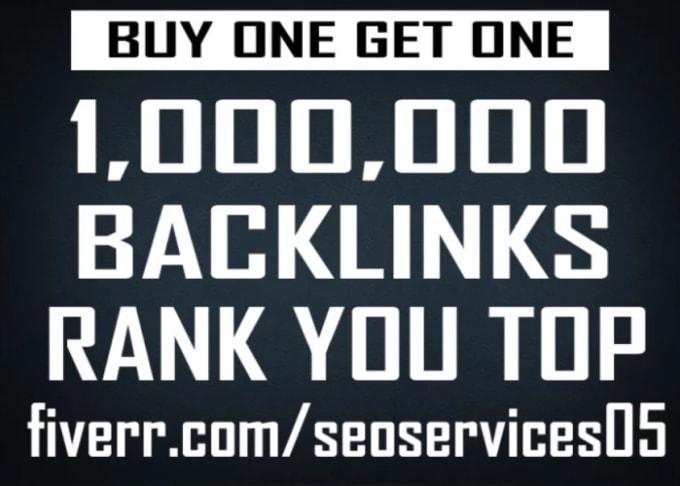 I will 1,000,000 gsa, ser, quality, backlinks for seo