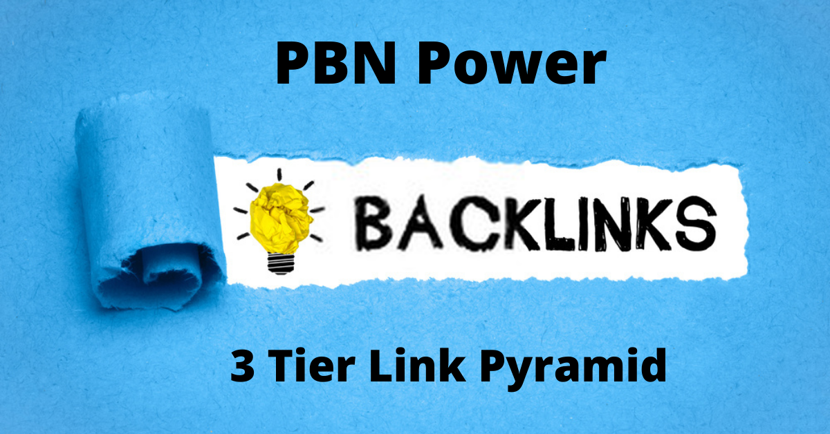 Create Powerful 3 tier PBN link pyramid with 250 Links for your site