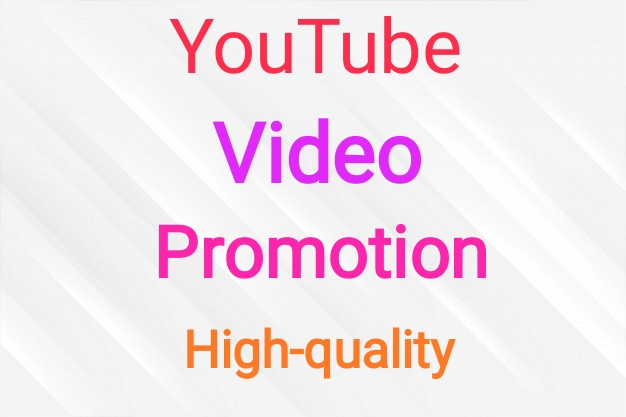 Video promotion non drop and fast delivery