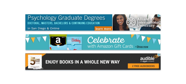 Banner ads for https /flyersquare. com