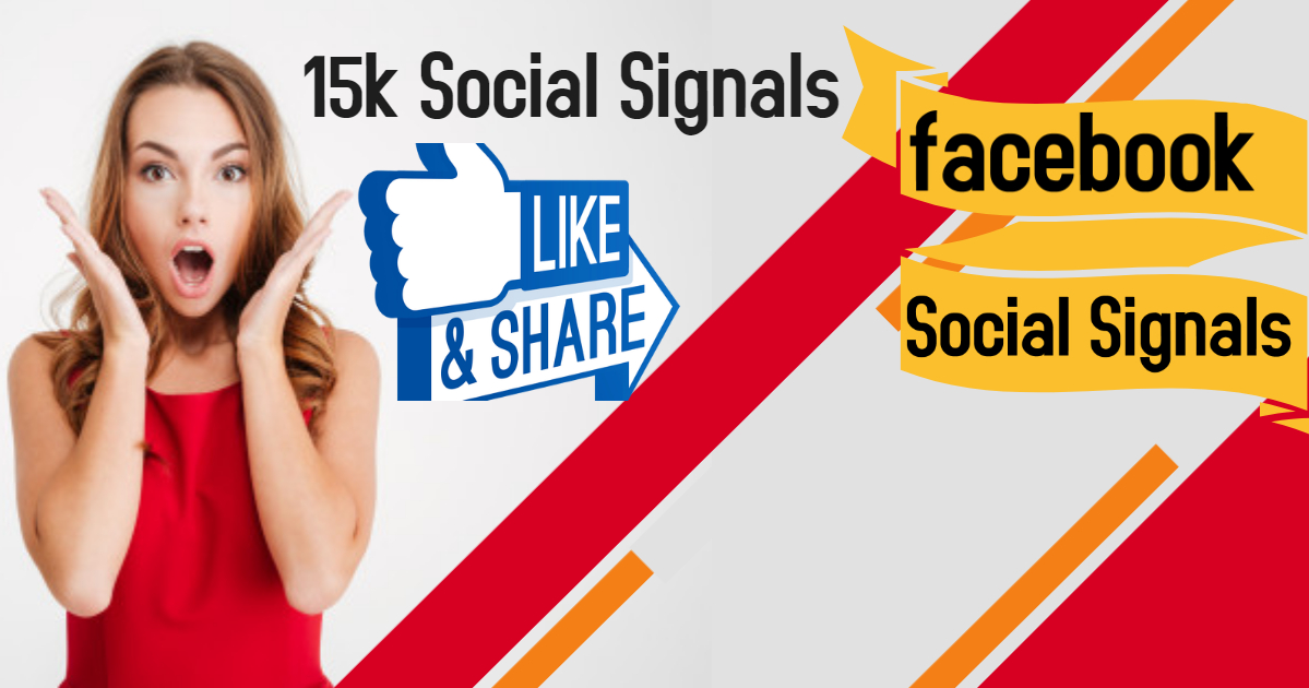 15,000 Social Signals Come From Top 1 Social Media Sites