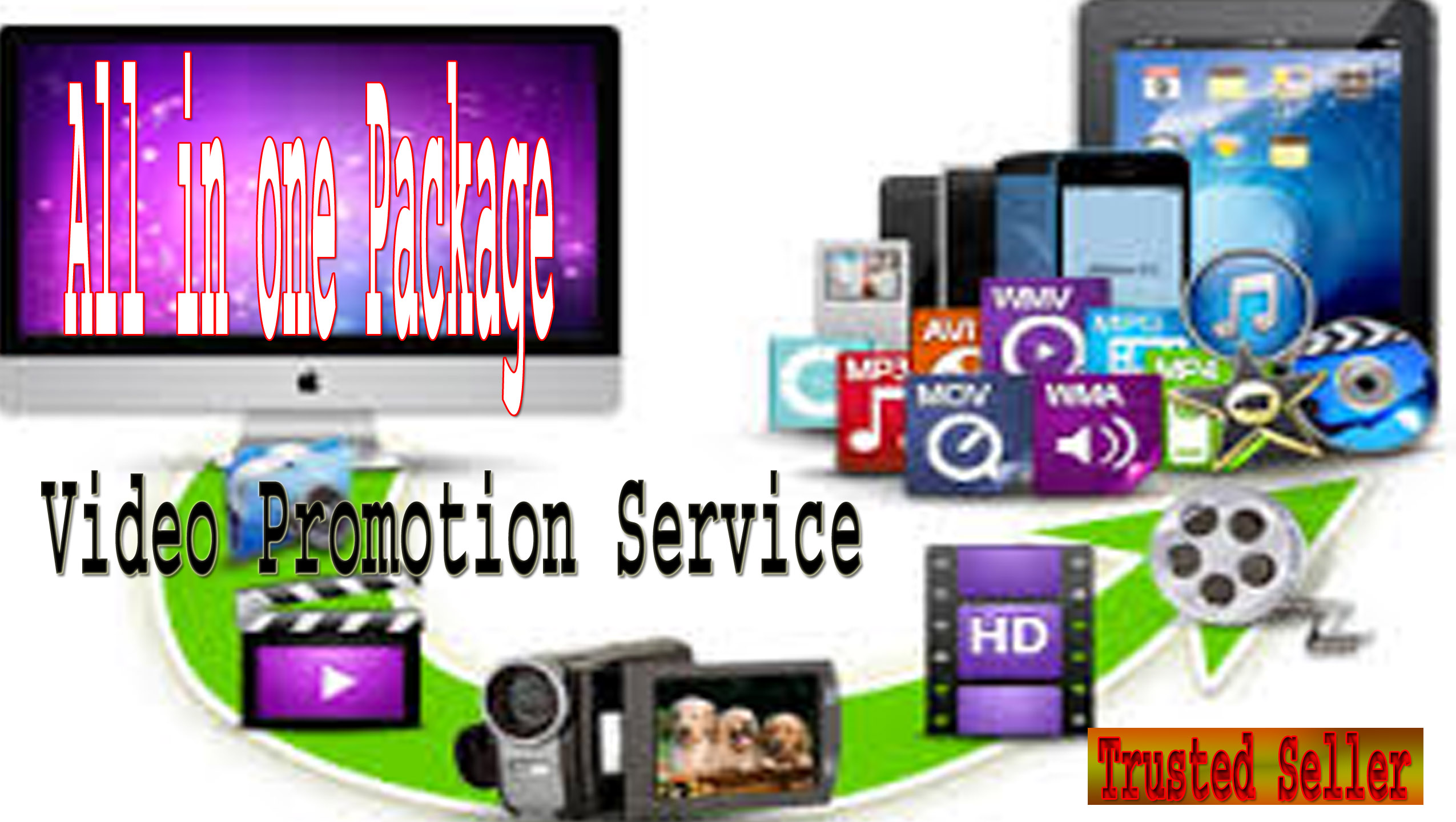 Killer video Promotion Package with fast delivery