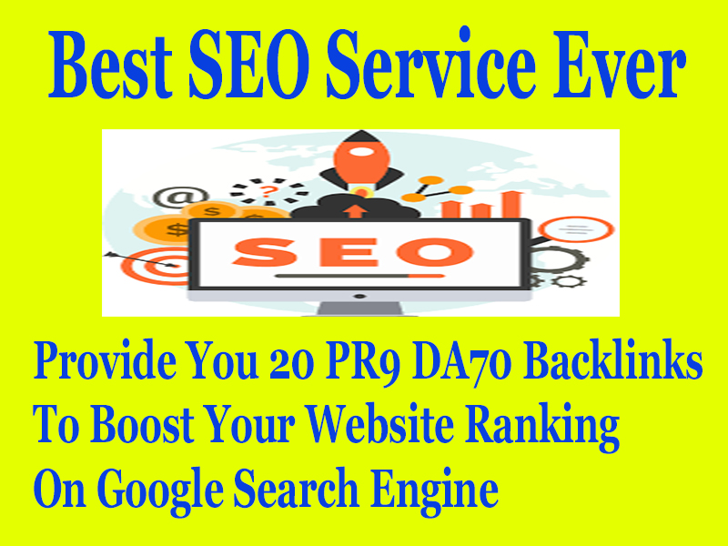 Skyrocket Your Website on Google by Manual High Authority Dofollow Backlinks