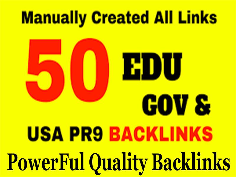 Best Offer 50 High Quality EDU SEO BackIinks