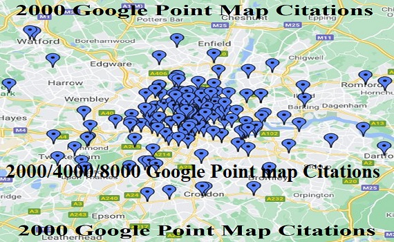 Manually Create 2000 Google Point Map Ciations For Local Seo