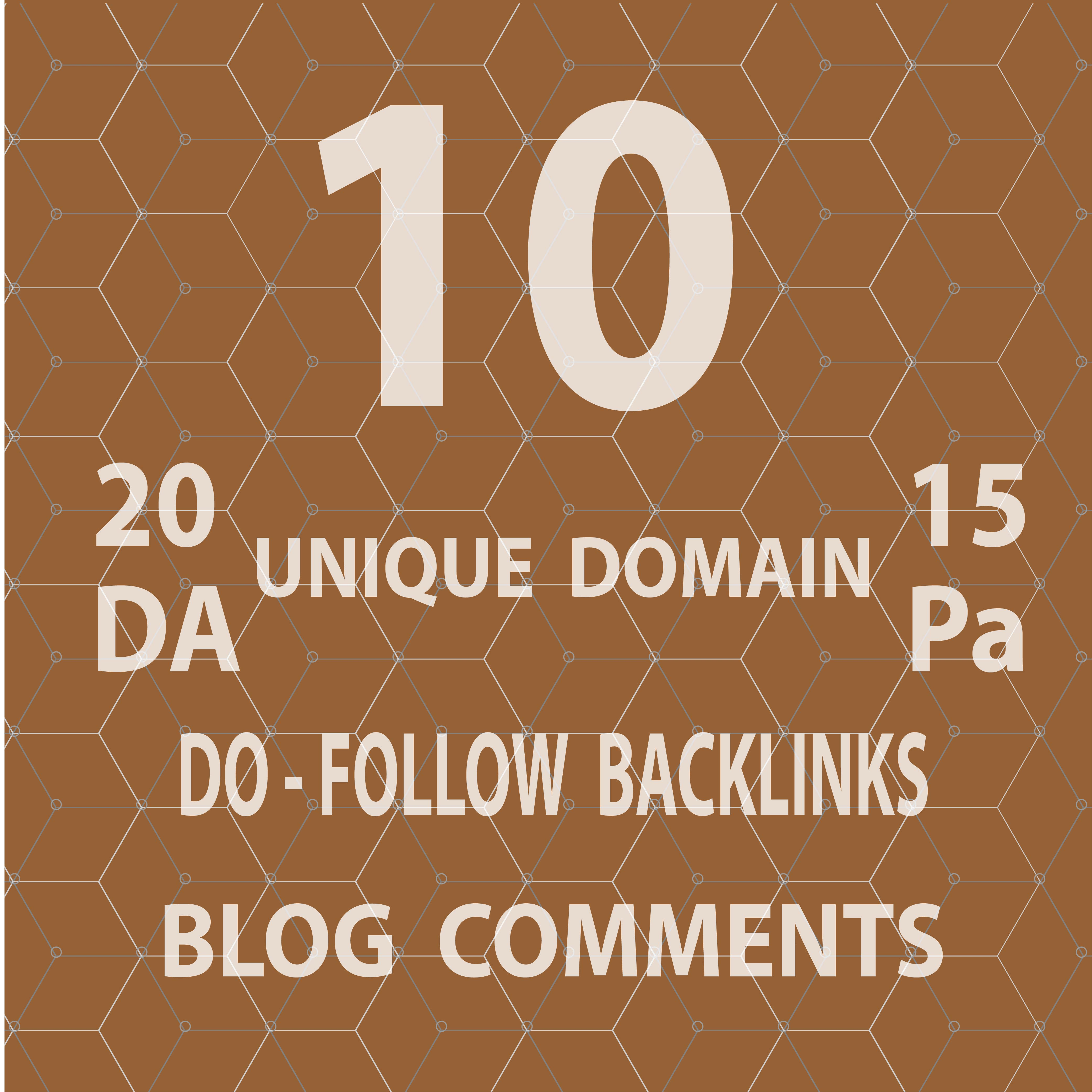 Create 10 backlinks For your Website ranking