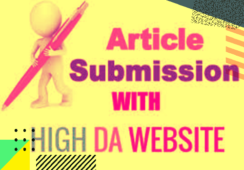 I Will Provide Approved Article Submission To Top 15 Sites