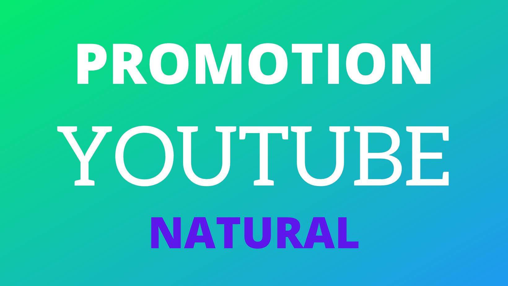 Youtube Promotion Natural Active World Wide Real Users