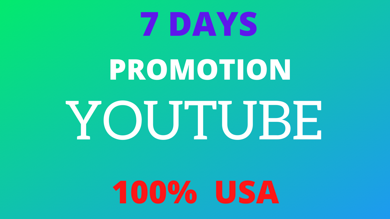 High Quality YouTube Video Seo Viral Marketing Target USA