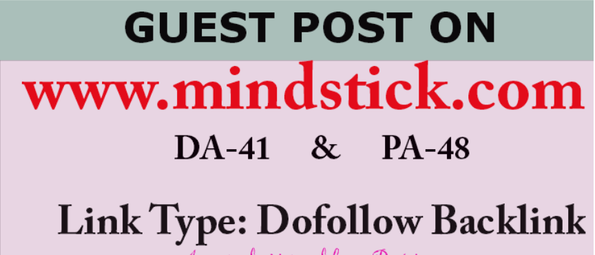 Able to do publish content on Mindstick. com DA-48 Dofollow