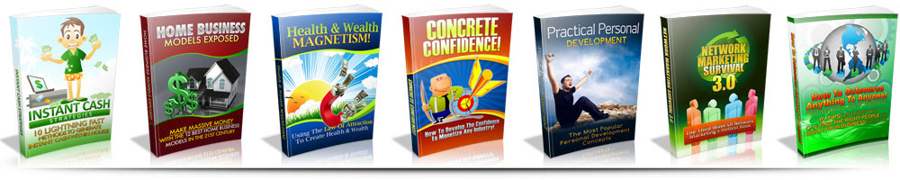 Get 47 HIGH QUALITY E-BOOKS with Master Resell Rights The PDFs.