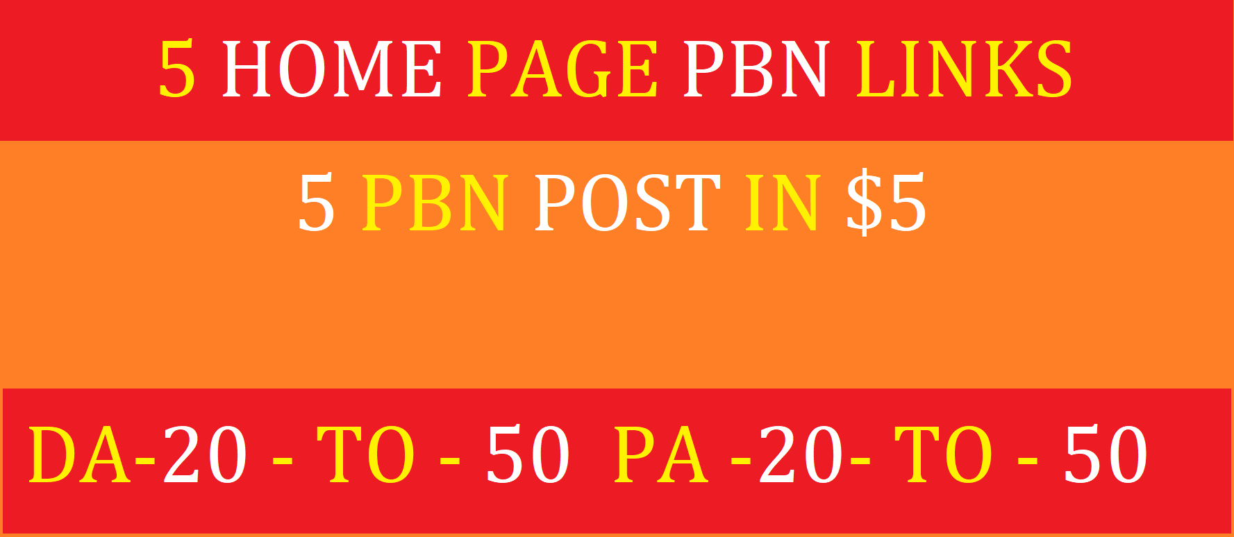 Publish manual 5 pbn posts on da 20 to da 50 blogs