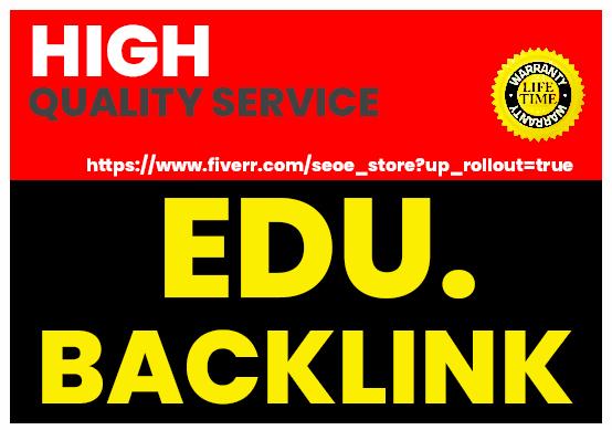 High Authority 300 EDU. Gov. Backlinks Free 10 Reddit links Google Top Page