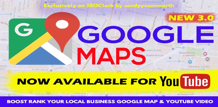 1500 Sharing Improve Your Local Business Google Maps Embed OR Video Embed SEO Ranking