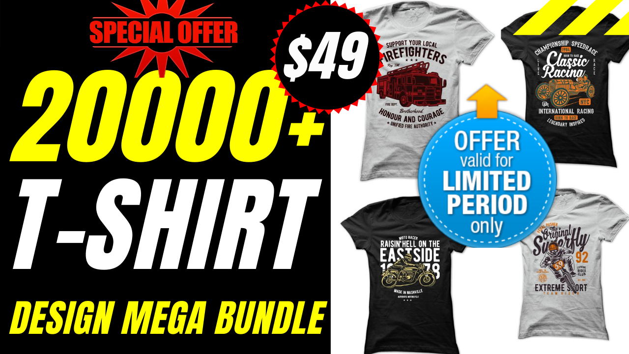 20000+ editable New tshirt designs bundle
