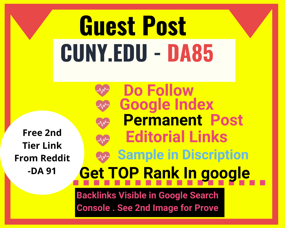 Guest posting on DA 85 on EDU blog with dof0ll0w backlinks