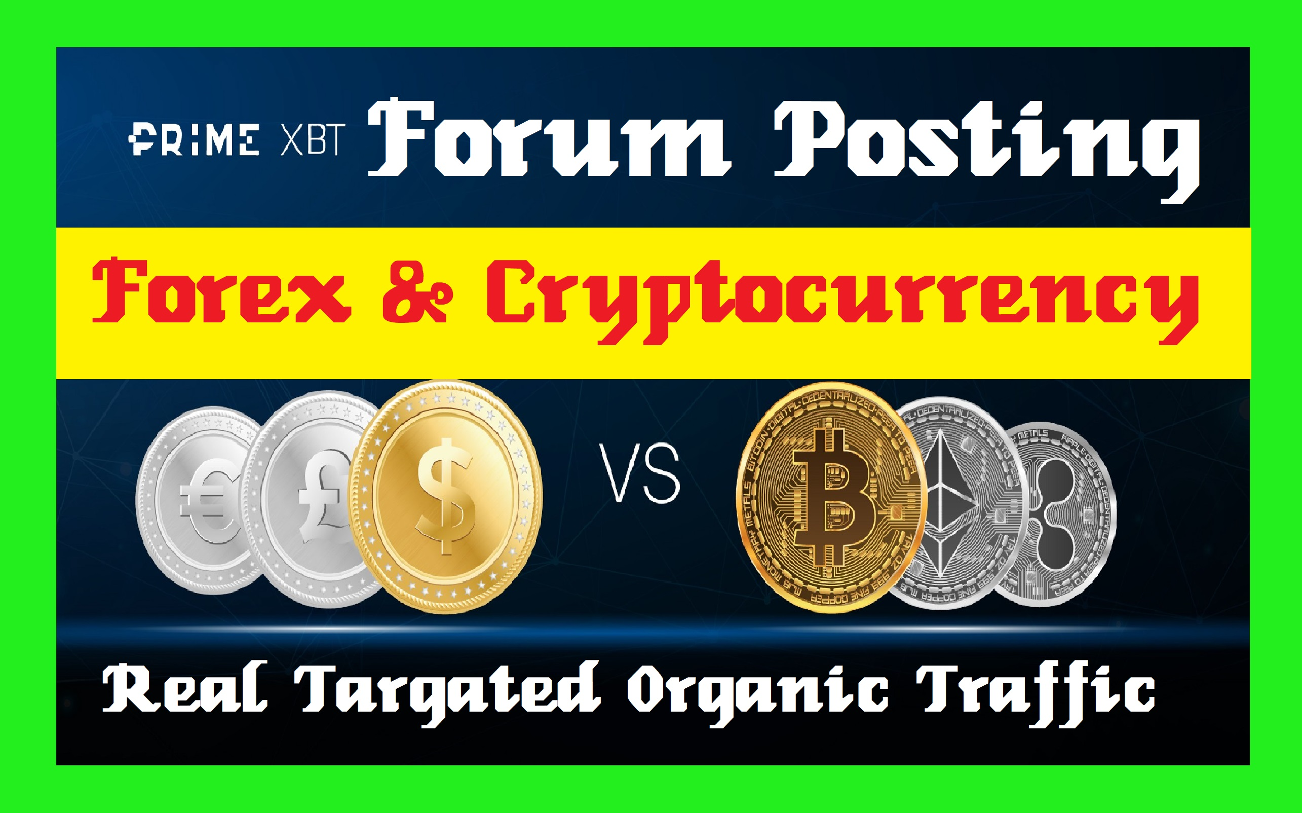 20 Forum Posting Backlinks,  Forex And Cryptocurrency Related Topic Post Reply