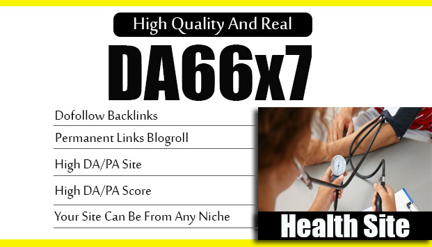 Give Link Da66x7 HQ Site Health Blogroll Permanent
