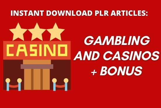 I will provide 1400 PLR article of gambling and casinos niche with bonus