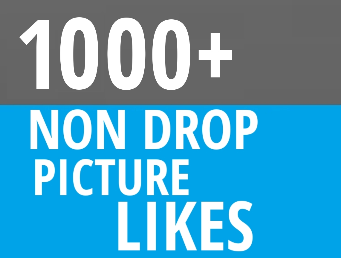 Instant 1000+ Picture OR Video Promotion with Organic Method