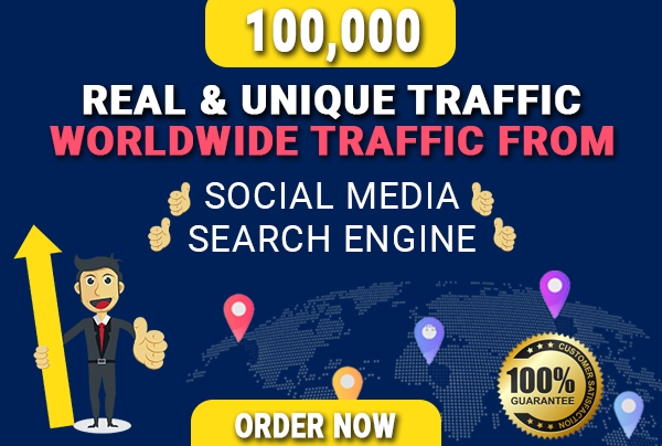 3000+ Daily Worldwide traffic with keyword target for 30 days