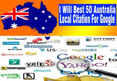 I will Create 50 Best Australia High Quality local citation