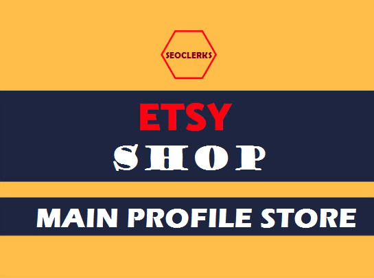 Etsy Main Profile Shop Promotion Full Pack Fast Delivery Within 12-24 Hours