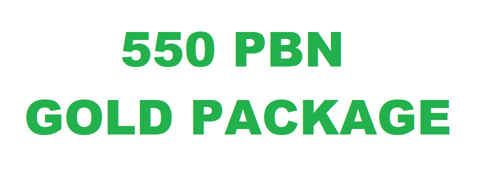 550 PBN Gold Paket DA 20-30 PA 40-60 Unique Link GUARANTEED