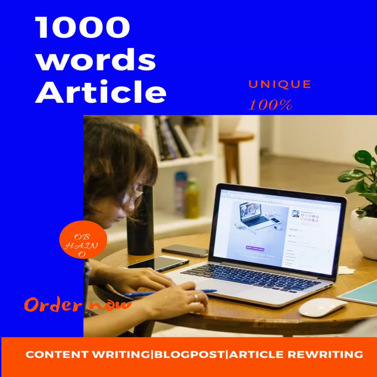 1000 words manually written unique and SEO oriented article