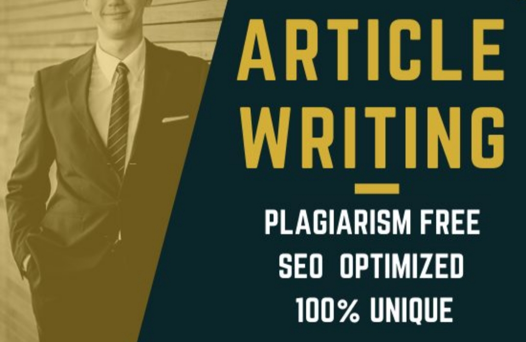 I will write 1000 words SEO focused blogs and article