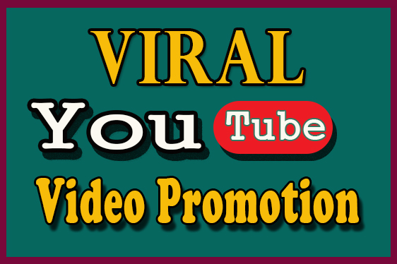 High retention Organic SEO promotion to viral your YouTube video