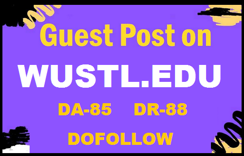 Guest post on university blog wustl.edu, DA 84 and DR 88