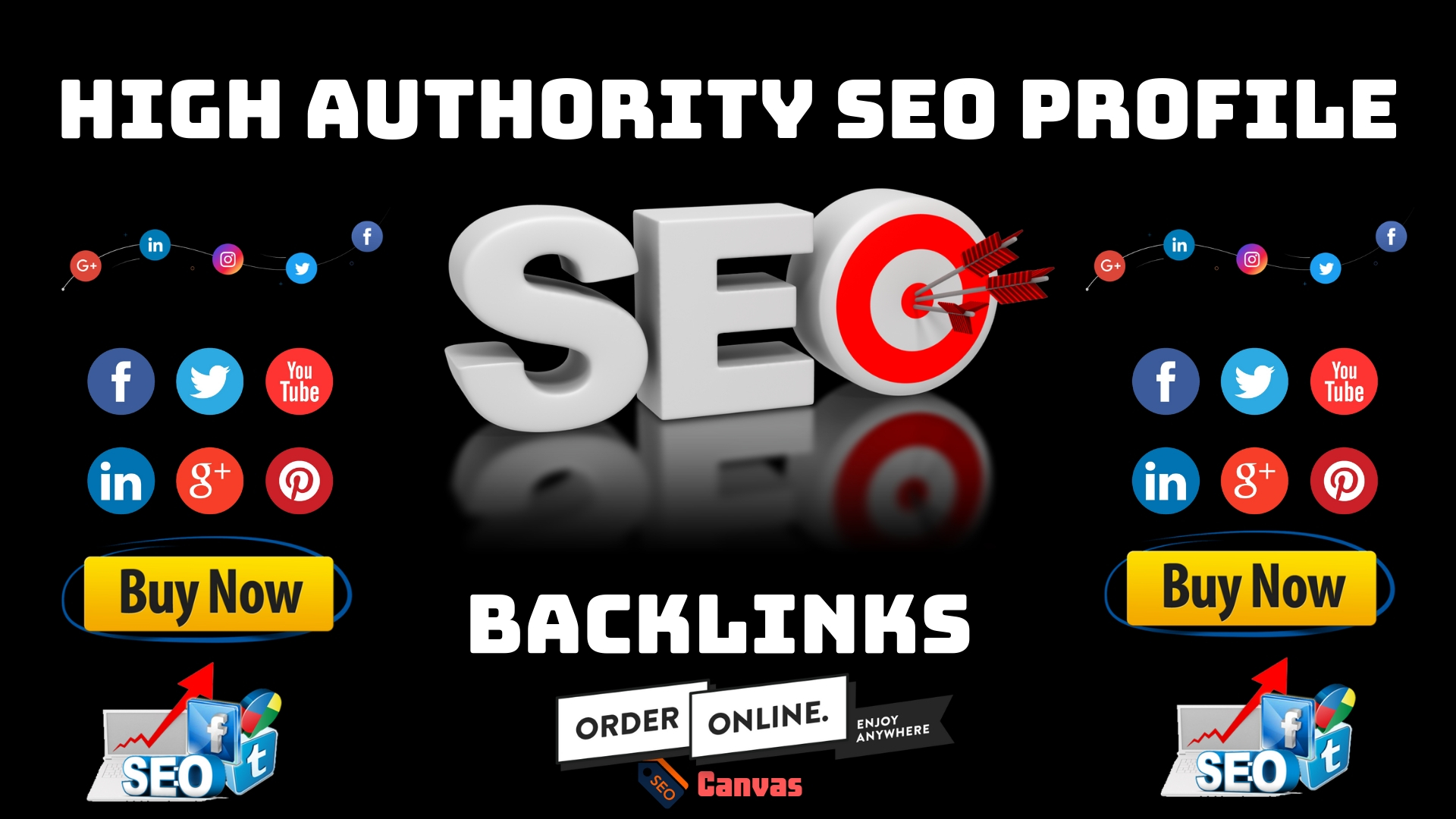 build high quality 50 social profile backlinks for promote your website