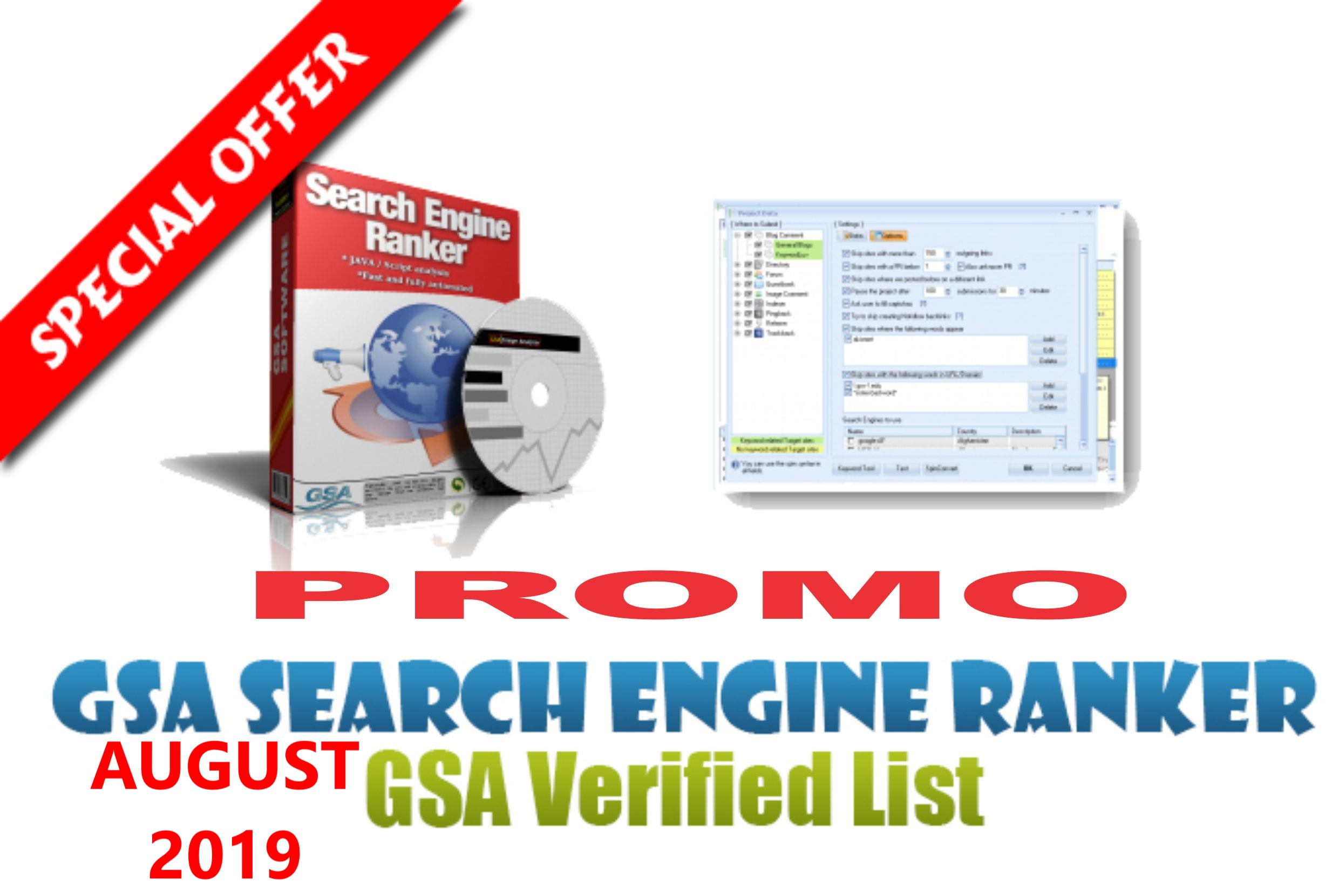PROMO 500k+ GSA SER Fresh Lists Auto-Approve Link 2019 SEO