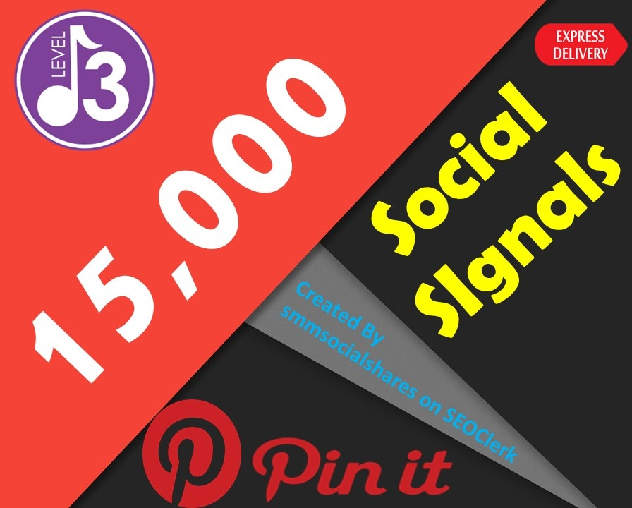 15,000 Pinterest Share Social Signals Important For SEO Ranking