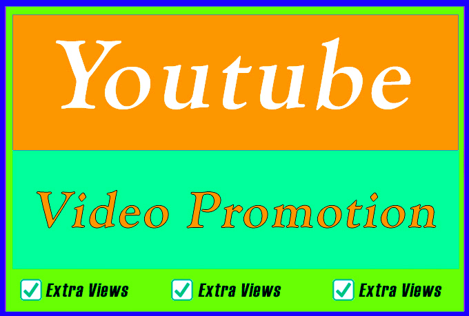 Only Youtube Video Promotion and Marketing