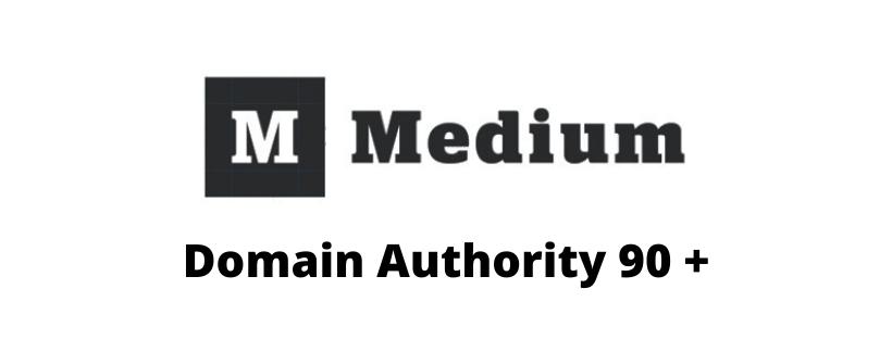 I will do guest post on medium 90+ DA website
